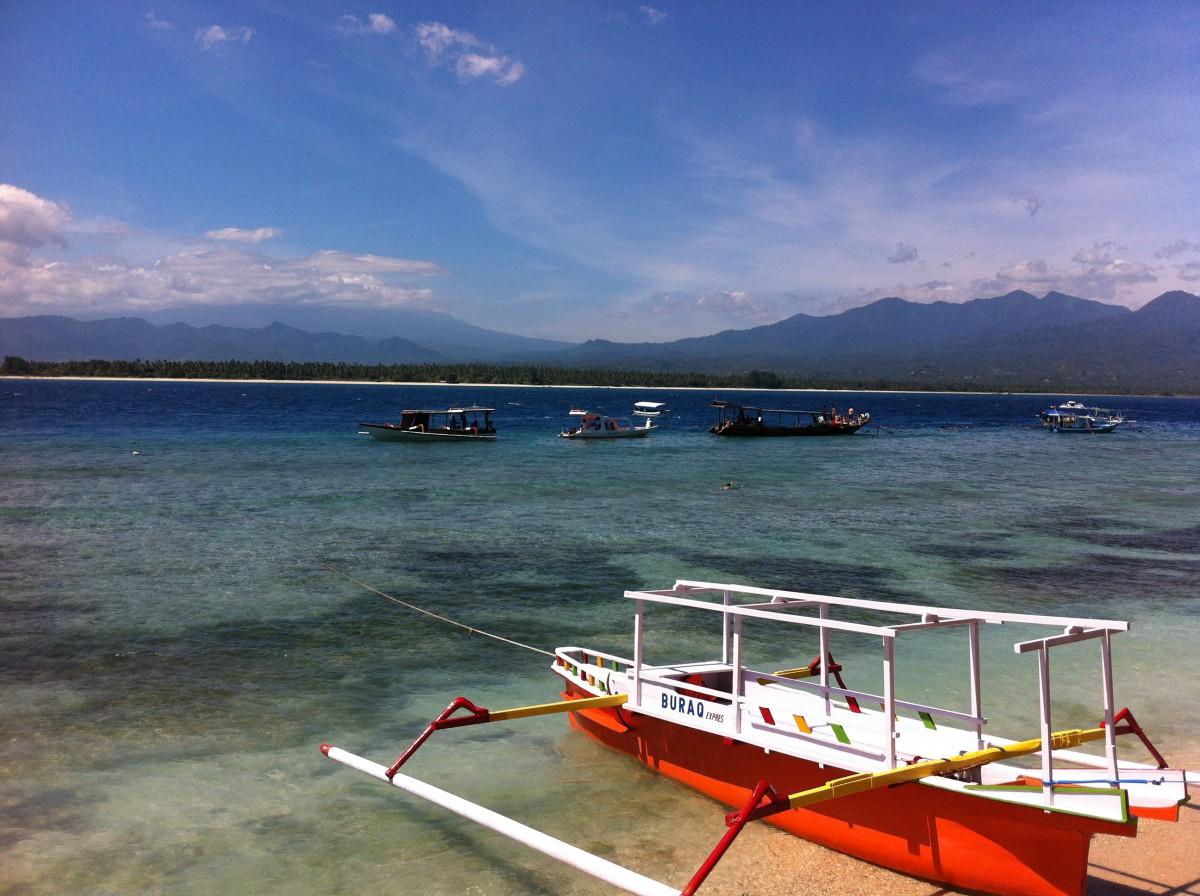 Gili Air, Indonesien