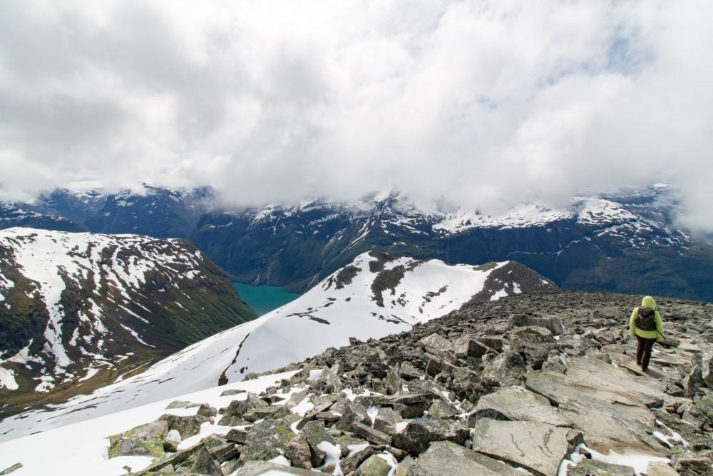 Ein fantastischer Ausblick vom Gipfel