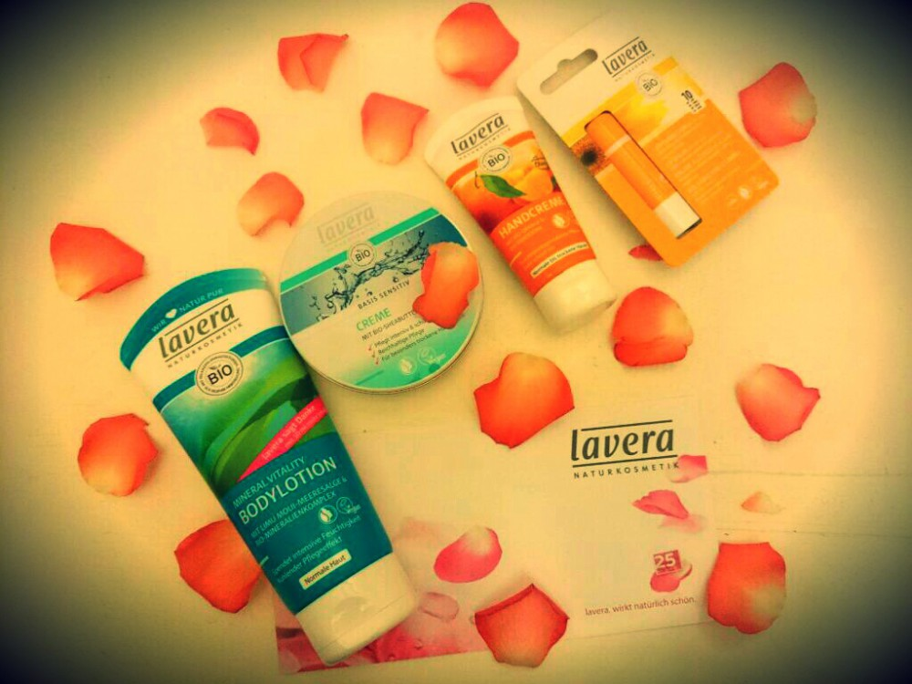 Gewinnt ein Lavera Naturkosmetik-Set zum Valentinstag