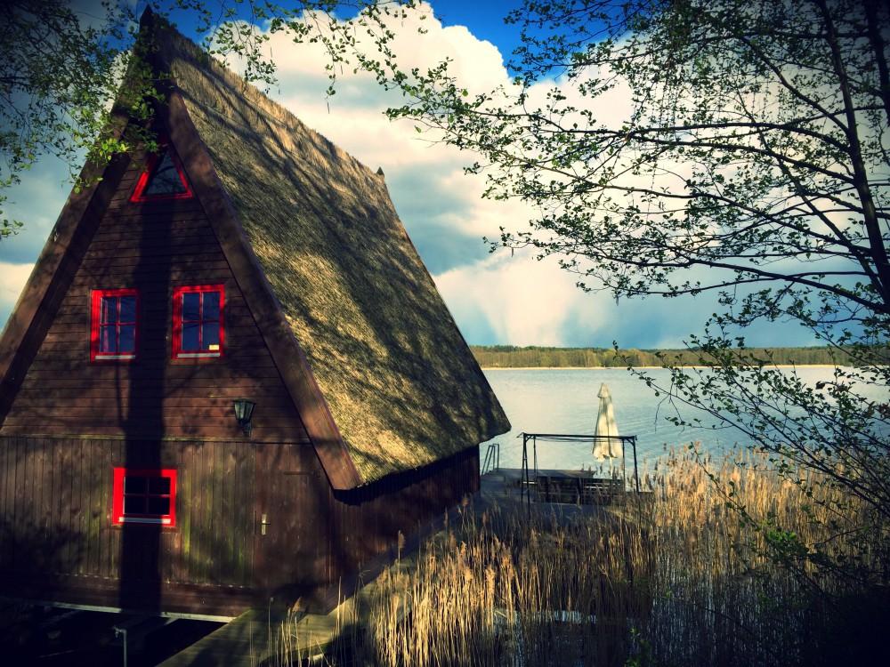 Unser schönes Bootshaus