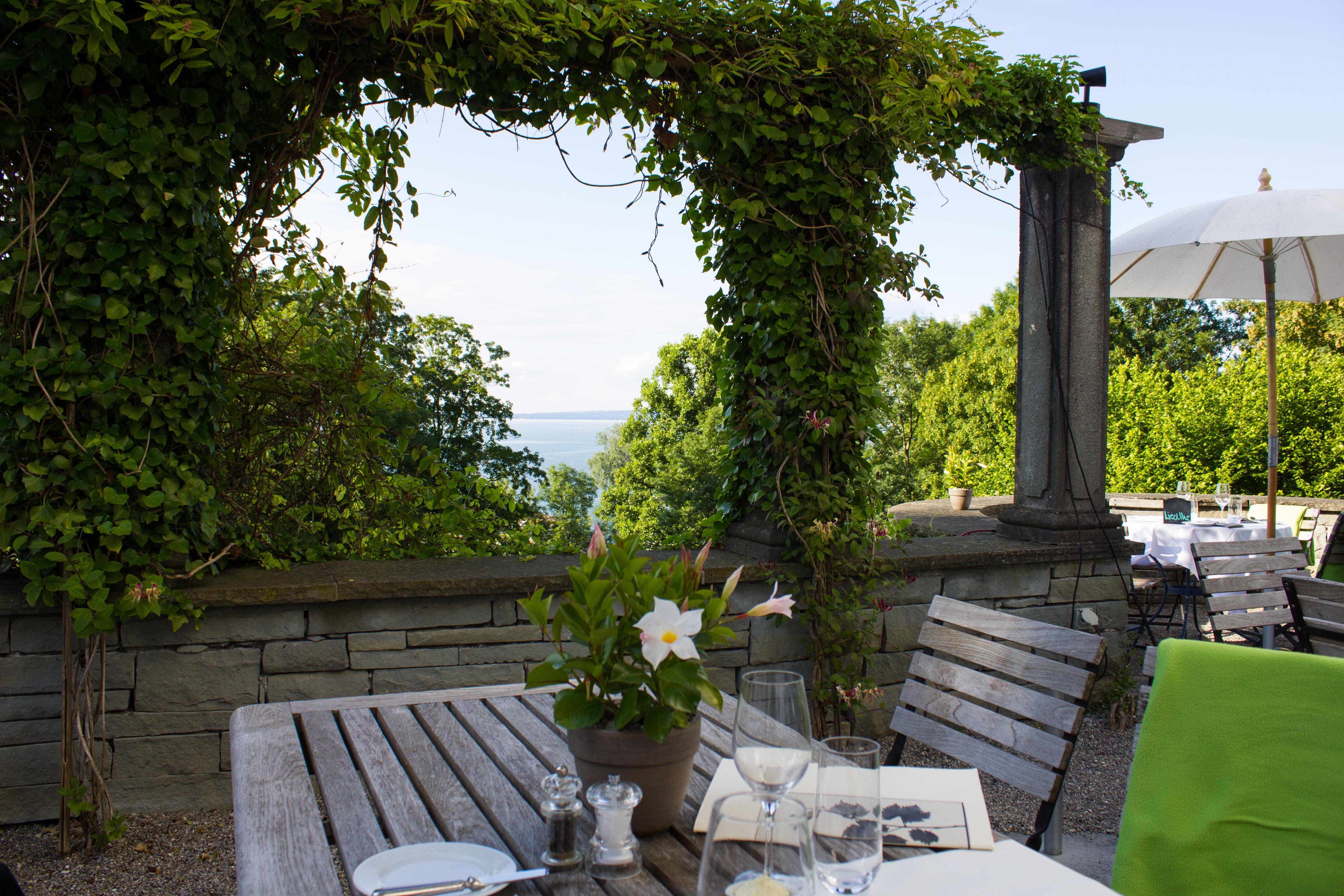 Das Restaurant des Bio-Schlosshotel Schwartegg